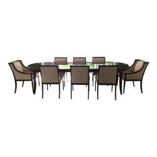 Sutherland Dining Table & 8 Dining Chairs