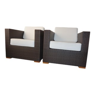 Artefacto All Weather Lounge Chairs - A Pair