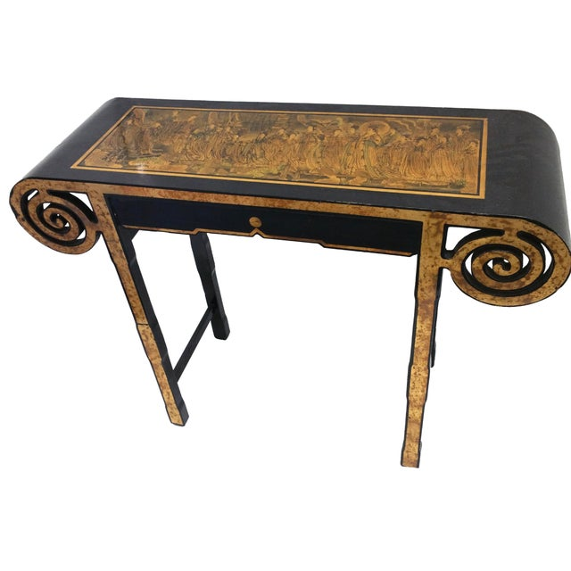 James Mont Style Asian Console Table - Image 1 of 4