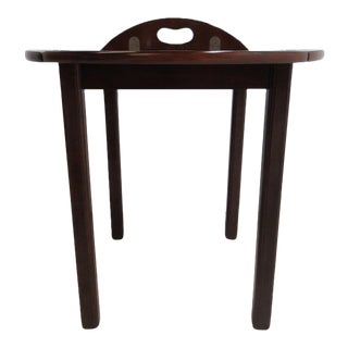 Mahogany Bombay Company Tray Top Butlers Coffee Table