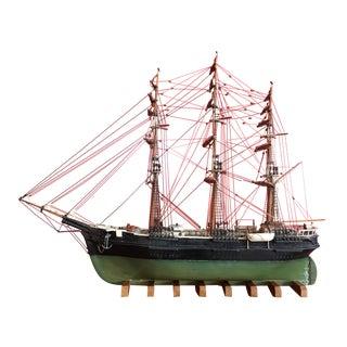 1940s Mid-Century Ship Model