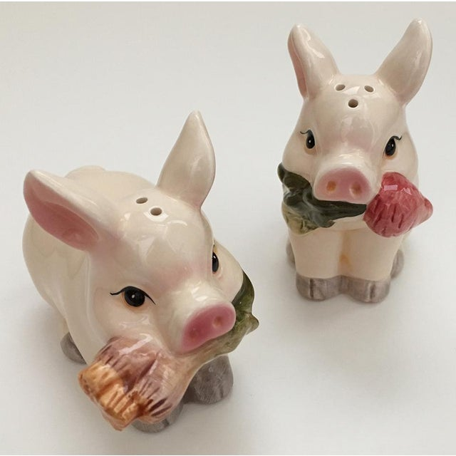 Pig Salt & Pepper Shakers - A Pair - Image 2 of 6