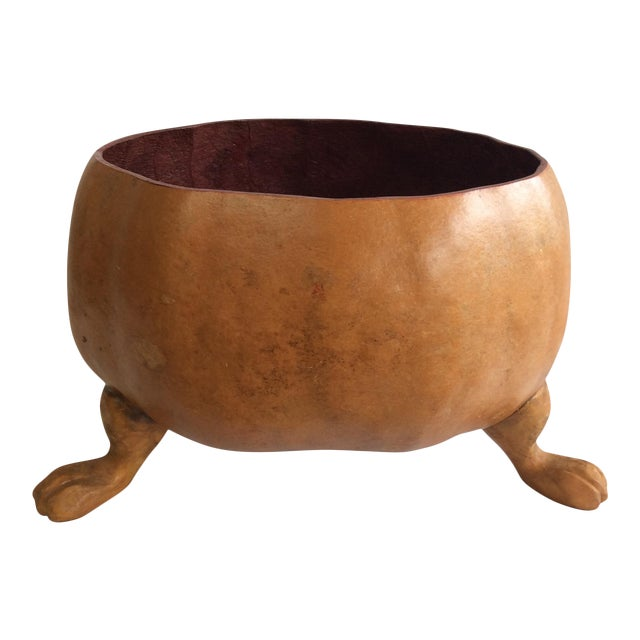 Footed Gourd Bowl - Image 1 of 4