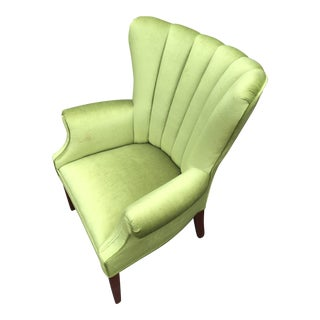 1950's Hollywood Regency Vintage Lime Chair