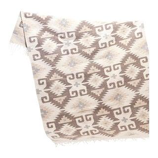 Hand woven Ecru Oaxaca Wool Rug