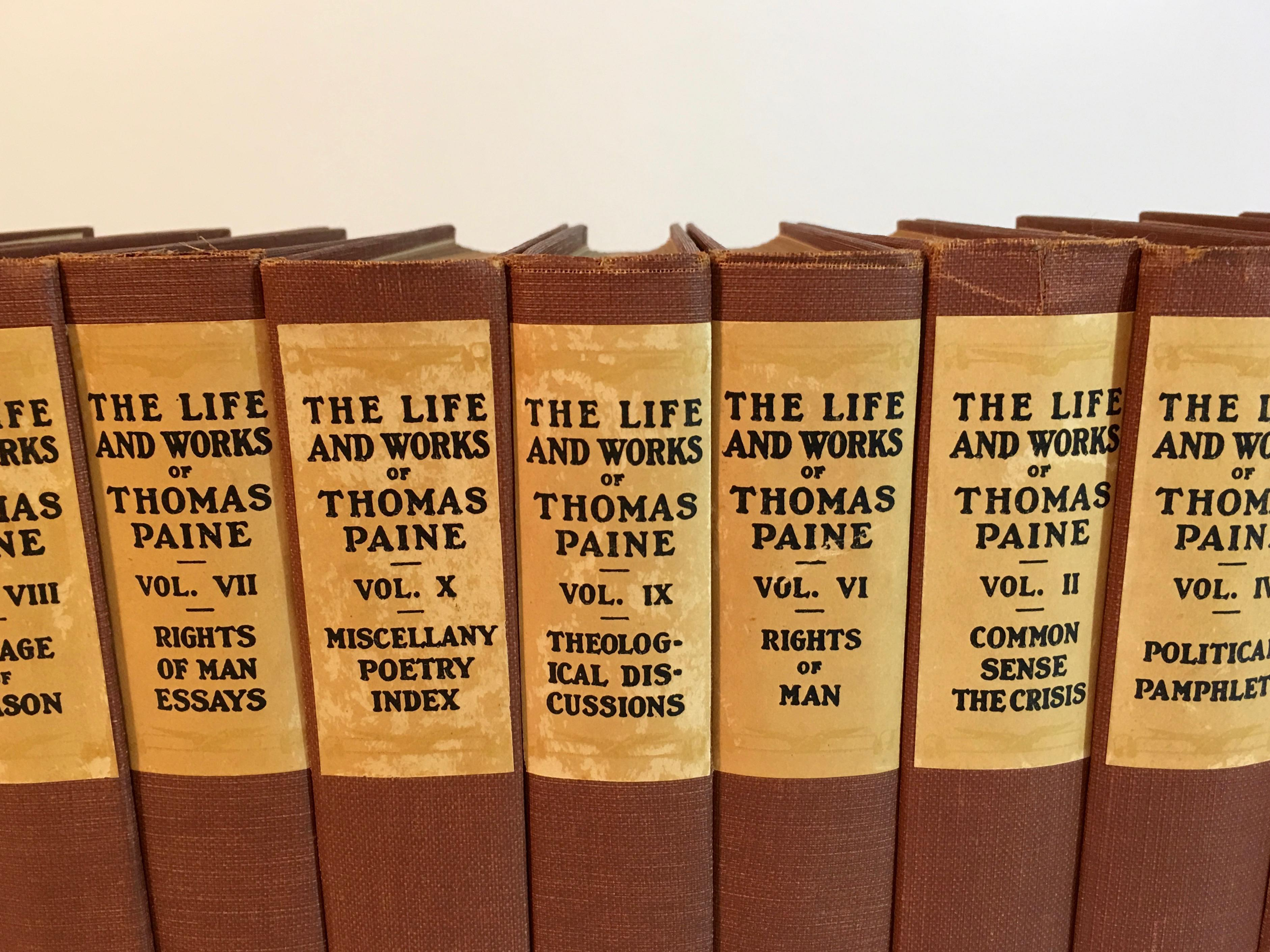 an introduction to the life of thomas paine I went back to them time and again, just as i have done since my boyhood days thomas edison from the introduction to 'the life and works of thomas paine, vol i', 1925 today belongs to barack obama but it also belongs to thomas paine when our new president says that his election proves the dream of our founders.