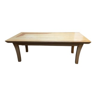 Maple & Red Oak Inlay Coffee Table