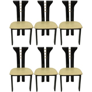 Pierre Cardin Dining Chairs - Set of 6