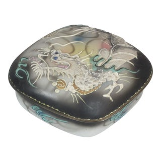 Japanese Lidded Dragon Box