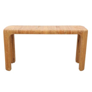 Bamboo Hall Table
