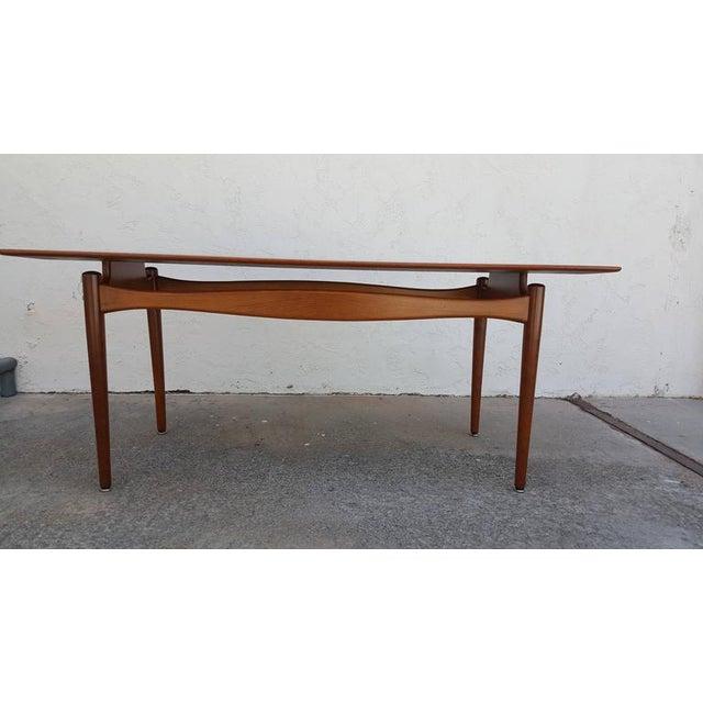 Finn Juhl Teak Coffee Table - Image 7 of 8