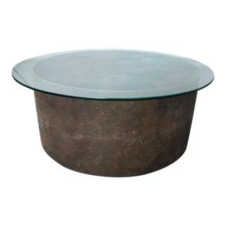 Steel Wheel Coffee Table