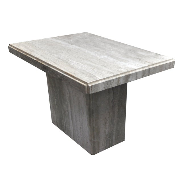 Travertine Coffee Table - Image 1 of 6