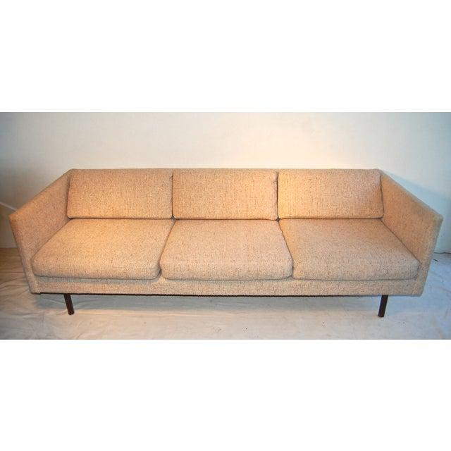 Slipcover Tuxedo Sofa: Mid-Century Tuxedo Sofa