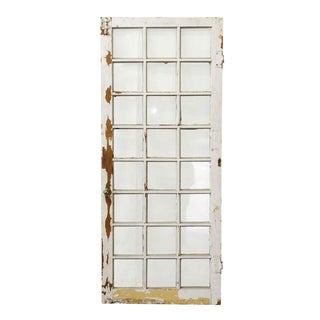 Distressed 24-Panel Window
