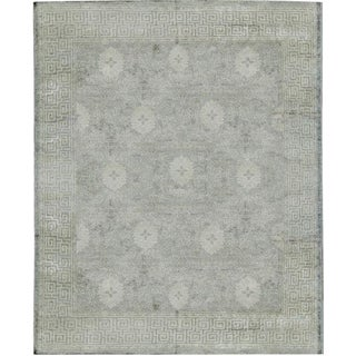 Moroccan Style Hand Woven Rug - 8′ × 9′11″