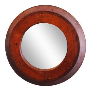 Wood Foundry Mold Mirror