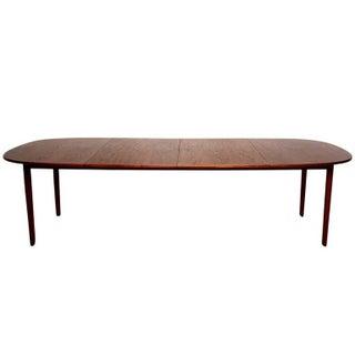 Danish Modern Ole Wanscher Teak Dining Table