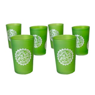 Massira Green Tea Glasses - Set of 6