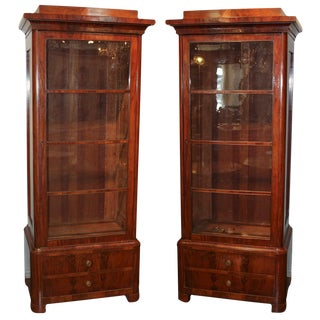 Fine Pair of Biedermeier Cabinets