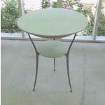 Image of Mid Century Italian Arper Aluminum Table