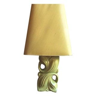 Vintage & Used Art Nouveau Table Lamps | Chairish:Vintage 1960s Chartreuse Table Lamp,Lighting