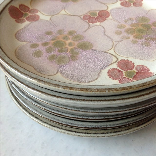 Image of Gypsy Rose Plates by Denby - Set of 6