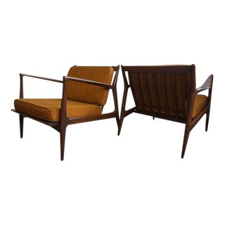Kofod Larsen for Selig Danish Lounge Chairs - A Pair