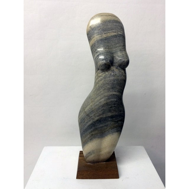 Vintage Female Nude Marble Sculpture by John Cody - Image 2 of 7