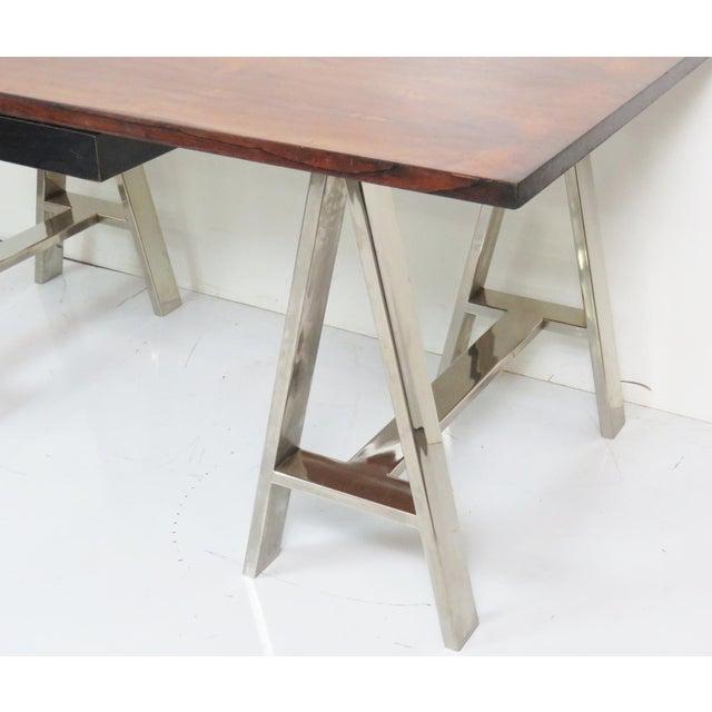 Modern Design Sawhorse Leg Desk - Image 6 of 6