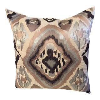 Kim Seybert Ikat Pillow