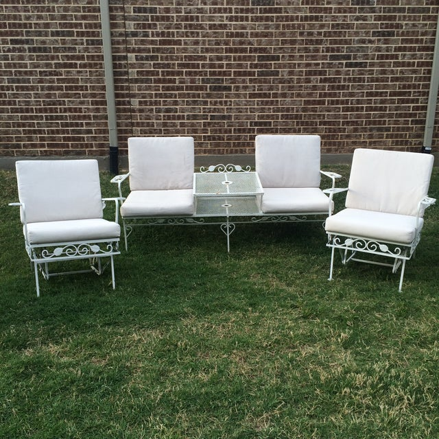 Salterini Outdoor Seating - Set of 3 - Image 2 of 11