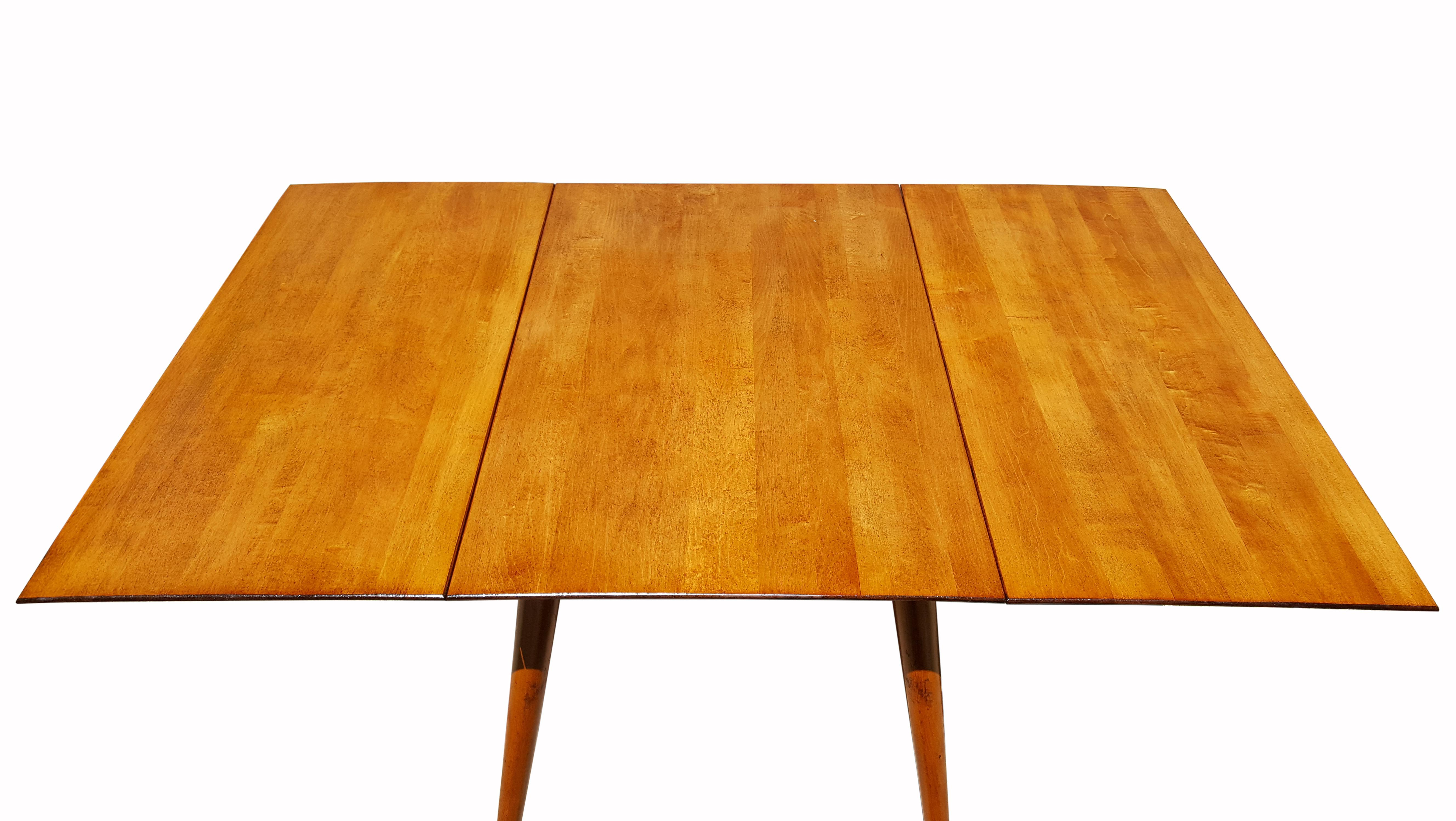 Paul McCobb Planner Group DropLeaf Dining Table Chairish