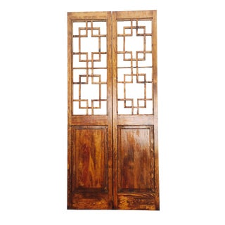 Asian Style 2 Panel Room Divider Screen