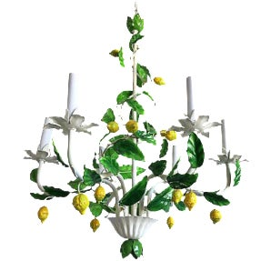 Italian Lemon Tree Chandelier