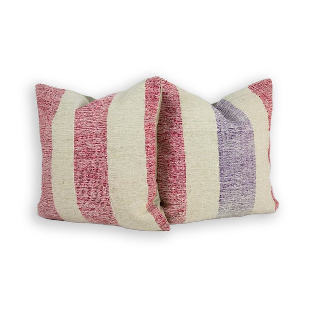 Natural Soft & Organic Fiber Kilim Pillows - Image 1 of 2