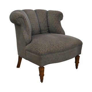 Kravet Upholstered Boudoir Chair