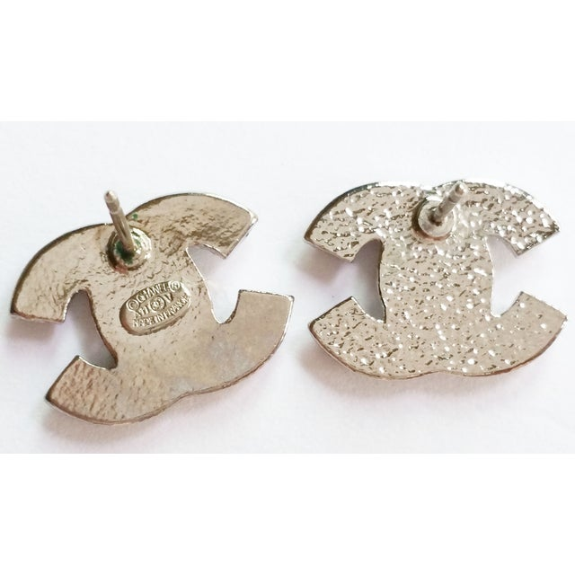 Image of Chanel Blink CC Small Size Clip on Earrings