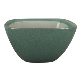 Glidden Matrix Turquoise Serving Bowl