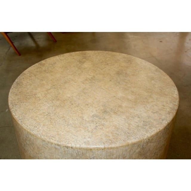 Image of Gina Berschneider large Alder wood table Round Wood Table