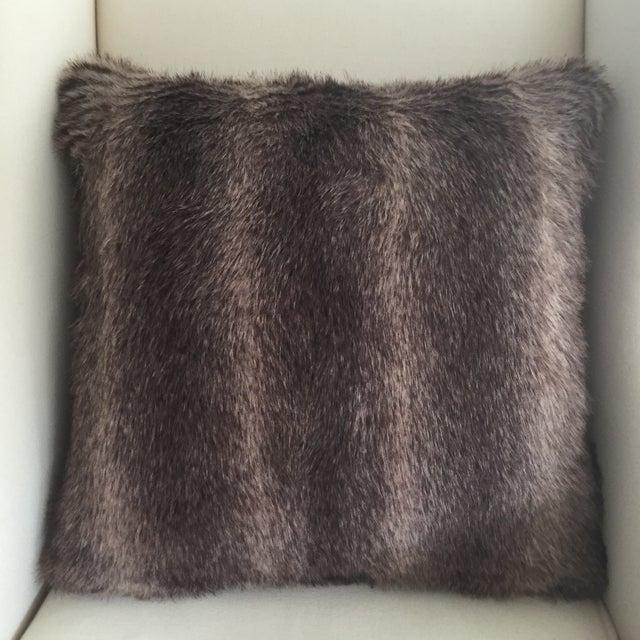 Faux Fur Pillow - Image 2 of 3