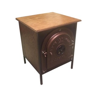 Boiler Plate Side End Table