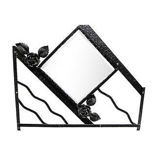 French Art Deco Mirror Iron