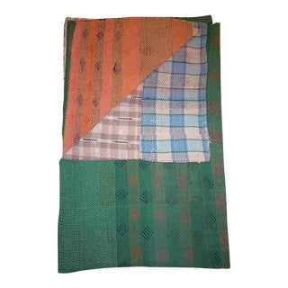 Sarreid LTD Vintage Kantha Blanket