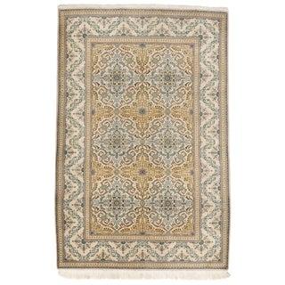 """Vintage Persian Kashan Rug - 4'5"""" x 6'10"""""""