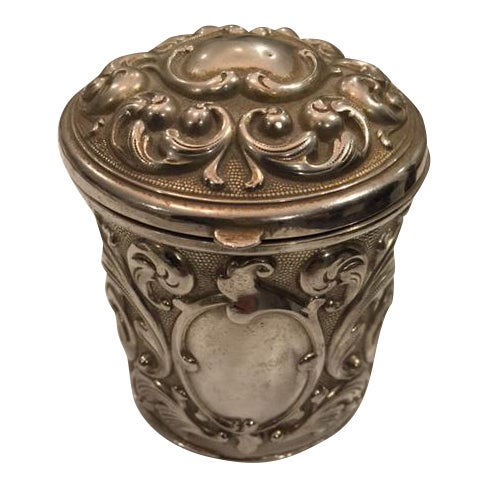 Image of French Silverplate Cigarette Case