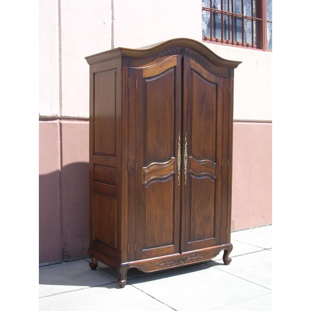 Victorian Antique Style Armoire With Hidden Desk - Image 2 of 10