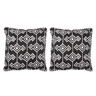Katherine Rally Brown Afrique Pillows- Pair
