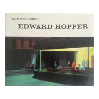 """Edward Hopper"" Vintage 1993 Oversized Xlrg Collector Art Book"