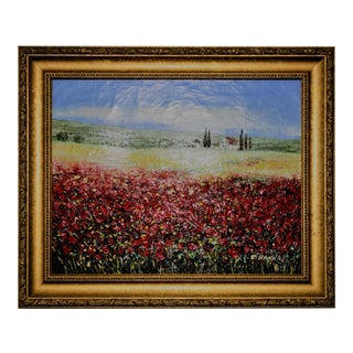 Field of Poppies Oil Painting